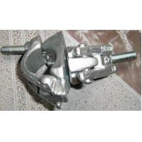 Metal Scaffolding Frames Hot Zinc Dipping Forged Swivel Clamps / Forged Double Clamps Manufactures