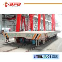 China PLC Control Low Voltage Track Supply Rail Vehicle 63T For Sale on sale