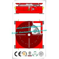 Floor Turning Table Pipe Welding Positioner 380V 3P 50HZ 1500mm Worktable Manufactures