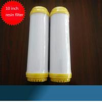 "10"" Resin Water Filter Cartridge Ion Exchange Water Softner Resin Filter Cartridge Manufactures"