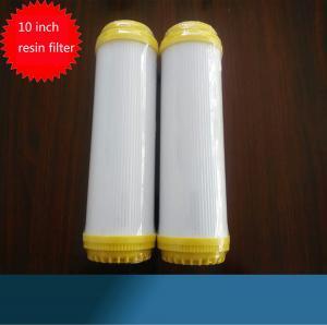 """10"""" Resin Water Filter Cartridge Water Softner Filter Cartridge Manufactures"""