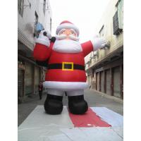 Giant Inflatable Santa Claus Oxford Chrismas Inflatable Products in red Manufactures