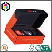 Matte CMYK Color Printing Corrugated Cardboard Packaging Box Tuck Top Manufactures