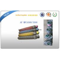 Quality Ricoh aficio MPC3500E Color Laser Toner Cartridge With Chip For AF MPC4500 for sale