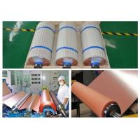 3 / 4 OZ ED Copper Foil Flexible Copper Clad Laminate Good Folding Endurance Manufactures