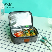 China Classic Adult Thermal Insulated Oxford Cloth Lunch Bag Daily Life on sale