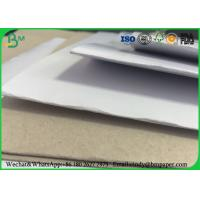 """Recycled Pulp C1S Coated Duplex Board Grey Back 23"""" * 36"""" For Clothing Tag Manufactures"""