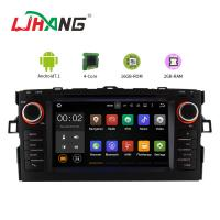 Canbus Radio Portable Dvd Player For Car , Auris Toyota Dvd Entertainment System Manufactures