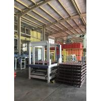 Quality Automatic Pallet Magazine System PLC and Touch Screen Controlled with Complte Set of Conveyors for sale