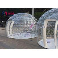 Stargaze Outdoor Single Tunnel Dome Inflatable Event Tent House For Display