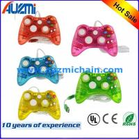 Transparent Wired Joystick For Xbox 360 Controller Led Lighting gamepad for xbox 360 Manufactures