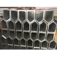 6061 T6 Polygon Tube Aluminium Frame Profile , Aluminum Extruded Shapes For Industrial Material Manufactures