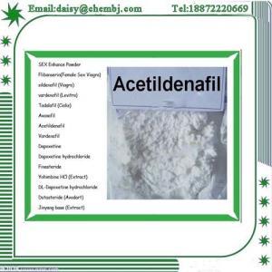 Legal Sex Enhancer Powder Acetildenafil / Hongdenafil Sexual Steroids CAS 831217-01-7 Manufactures