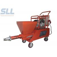 spray gun of mortar plastering machine is convenient and easy to use Total Power 7.5kw Manufactures