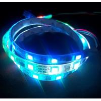 IP65 Waterproof Digital led strip light 32leds/m RGB color Manufactures