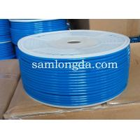 pneumatic PU hose, 100% new material with SGS certificates,blue color tube Manufactures