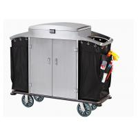 Small Room Service Trolley with Heavy Duty Refuse Bag Stainless Steel Powder - Epoxy Finish Manufactures