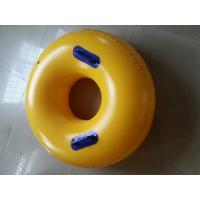 Round Yellow Inflatable Sports Games Winter Sports Ski Ring Sizes Manufactures