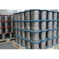316 L High performance Stainless Wire Rope used for military applications Manufactures