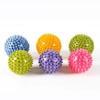Pilates Spiky Massage Ball PVC Foot Trigger Point Stress Relief Yoga Massager Manufactures