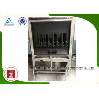Charcoal Heating 8 Fish Spaces Single Layer Rectangle Shape Fish Grill Equipment Manufactures
