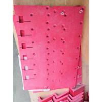 Red and GPO-3 laminated sheet CNC machined parts with UL recognized Manufactures
