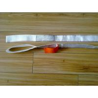White 530kg Flat Endless Lifting Slings , Polyester Lift All Web Slings
