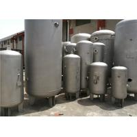 232psi Pressure Horizontal Air Compressor Tank , Water / Gas / Propane Storage Tanks Manufactures