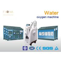 Water Spray Oxygen Therapy Facial Machine For Skin Tightening Low Noise Manufactures