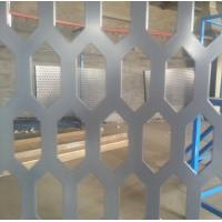 PVC coated hexagonal hole perforated metal sheet Manufactures