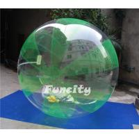 Green and Clear Color OEM PVC or 0.8MM TPU Inflatable Water Walking Ball for Water Sports Games Manufactures