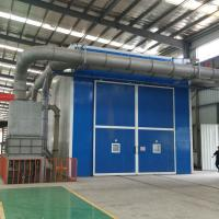 Q265 Sand Blasting Room With Automatic Recycling System 5ton Trolley Manufactures