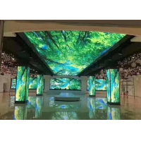 Night Club Four Sides Right Angle Epistar P4 Indoor Led Display Manufactures