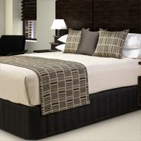 Luxury Hotel Fireproof Bed Scarf Manufactures