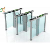 China Intelligent Automatic Turnstiles , Controlled Access Turnstiles Gate With Servo Driver on sale