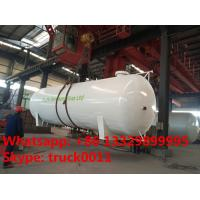 Quality best price CLW brand stationary bullet type 50,000L surface lpg gas storage tank for sale