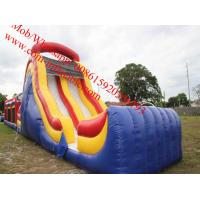 ultimate challenge 18 foot slide obstacle course inflatable obstacle course Manufactures