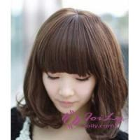 Short Curly Pear Shaped Head Hairstyles for Wigs Manufactures