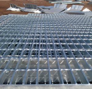 Welded steel bar grating/hot dip galvanized steel grating Manufactures