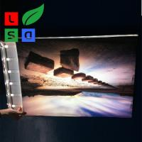 LED Fabric Light Box 45mm Single Sided Backlit Style Light Box Manufactures