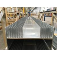 Quality 300MM Width 6063T5 Aluminium Heat Sink Profiles / aluminium heatsink extrusions for sale