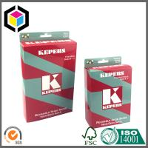 Glossy Color Printing Underwear Paper Carton Box; Self Hang Tab Paper Box Manufactures