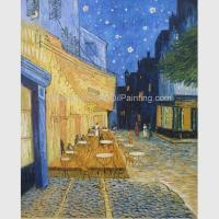 Buy cheap Van Gogh Cafe Terrace At Night , Countryside Van Gogh Canvas Reproductions from wholesalers