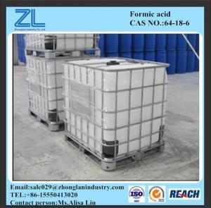 LiquidFormicAcidin IBC drum Manufactures