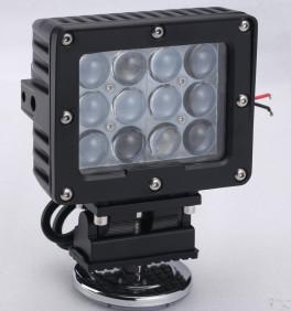 60W Square Vehicle LED High Power Driving Lights , 6500K 4800 Lumen 12 Volt Led Work Lights Manufactures