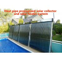 Energy Saving Heat Pipe Solar Water Heater , Vacuum Tube Solar Water Heater Manufactures