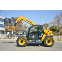 Yellow Small Telescopic Forklift Versatile Lifting Handling Equipment High Efficiency Manufactures