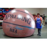 Quality Customized Inflatable Basketball Sports Themed Balloons Weather - Resistant for sale