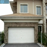 Colour Coated Sectional Overhead Garage Door Finger Protection Manufactures