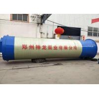 China Wastewater Drainage Submersible Sewage Pump Station With 5m - 200m Head on sale
